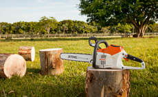 Motosserras para uso agropecuário