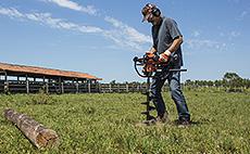Perfuradores para uso agropecuário